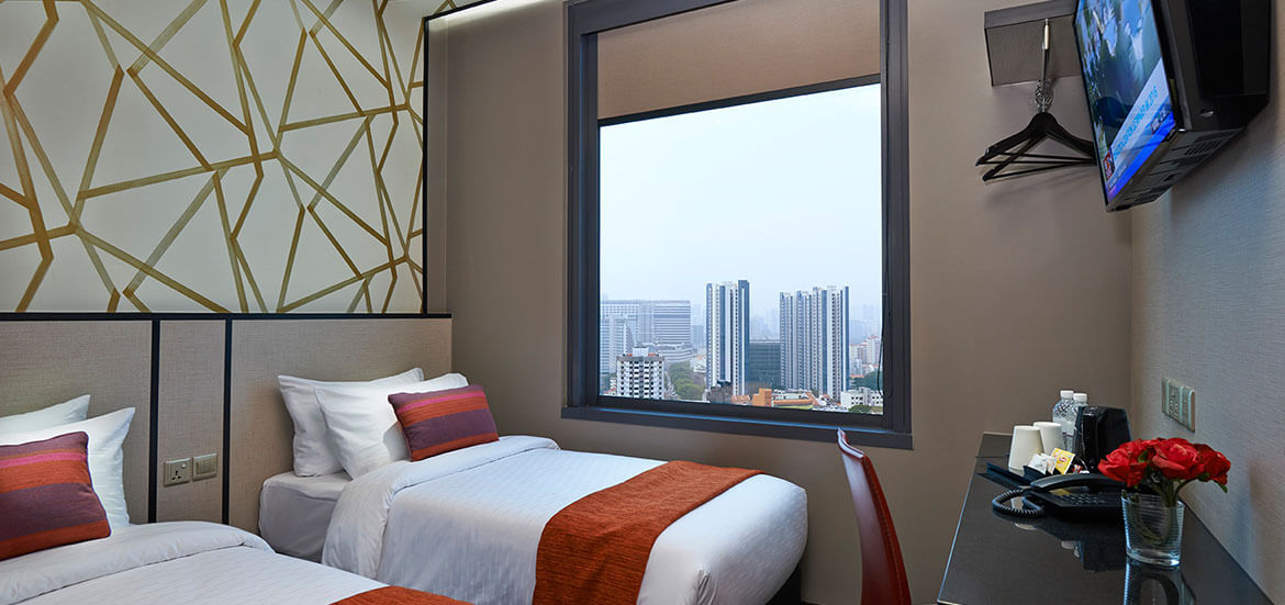 Hotel Boss Superior Twin (City View) room