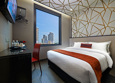 Located near Bugis Superior Double (City View) rooms at Hotel Boss