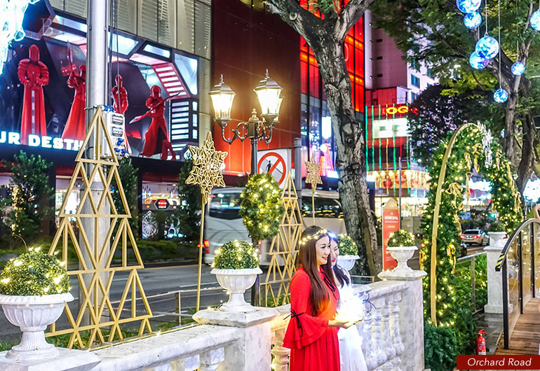 Christmas Light Up at Orchard Road 2017 , Singapore