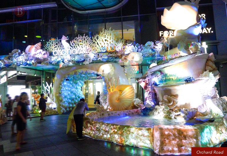 Christmas Light Up at Orchard Road 2016 , Singapore