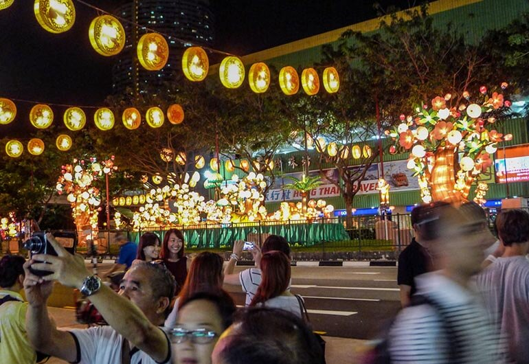 Chinese New Year in Chinatown Singapore Photography