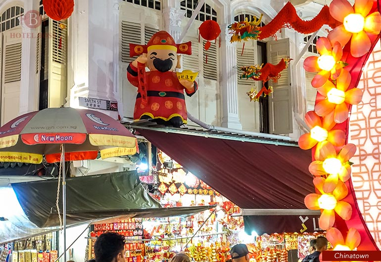 CNY Light up at Chinatown 2018 , Singapore