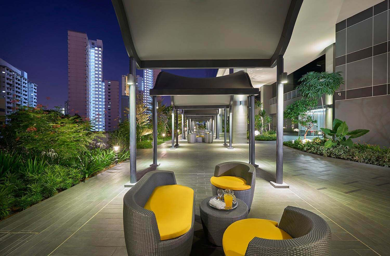 Level 4 Verandah | Hotel Boss Singapore