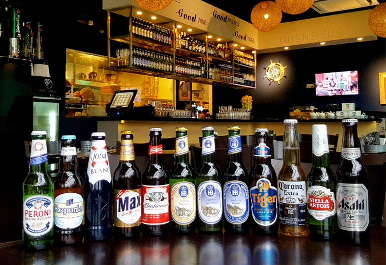 Extended range of bottled beers! @ Hotel Boss